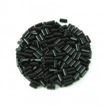 Miyuki szalmagyöngy - 401 - Opaque Black - 3mm