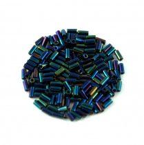 Miyuki szalmagyöngy - 452 - Metallic Dark Blue Iris - 3mm