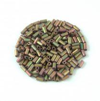 Miyuki szalmagyöngy - 2035 - Matte Metallic Khaki Iris - 3mm