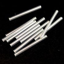 Miyuki szalma gyöngy - Silver Lined Crystal - 30mm