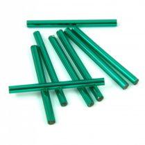 Miyuki szalma gyöngy - Silver Lined Emerald - 30mm