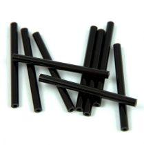 Miyuki szalma gyöngy - Opaque Black - 30mm