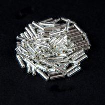 Miyuki szalmagyöngy - 1 - Silver Lined Crystal - 6mm