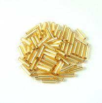 Miyuki szalmagyöngy - 3 - Silver Lined Gold - 6mm