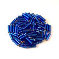 Miyuki szalmagyöngy - 20 - Silver Lined Cobalt - 6mm