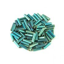 Miyuki szalmagyöngy - 2008 - Matte Metallic Patina Iris - 6mm