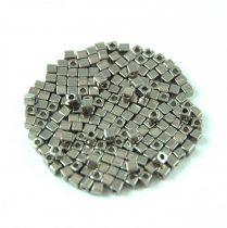 Miyuki kocka gyöngy - 190 - Nickel (Dark Silver)- 1.8mm
