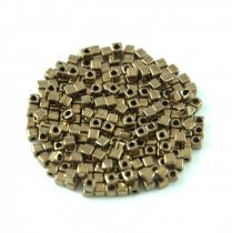 Miyuki kocka gyöngy - 457 - Bronz - 1.8mm