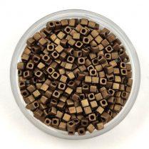Miyuki kocka gyöngy - 2006 - Matte Metallic Bronze - 1.8mm