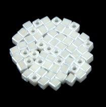 Miyuki kocka gyöngy - 420 - ceylon white -3mm