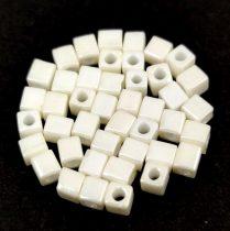 Miyuki kocka gyöngy - 421 - cream luster -3mm