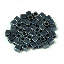 Miyuki kocka gyöngy - 451 - hematit -3mm