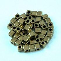 Miyuki kocka gyöngy - 457 - Metallic Dark Bronze - 3mm