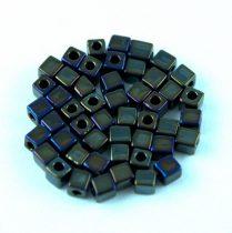 Miyuki kocka gyöngy - 458 - Metallic Gunmetal Iris -3mm