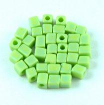 Miyuki kocka gyöngy - 0416fr - Matte Opaque Chartreuse AB - 4mm