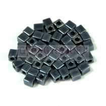 Miyuki kocka gyöngy - 0451 - Metallic Gunmetal (Hematit) - 4mm