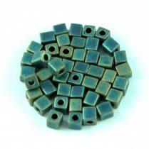 Miyuki kocka gyöngy - 2008 - Matte Metallic Patina - 4mm