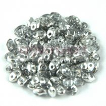Miniduo bead 2.5x4mm crystal silver