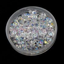 Miniduo gyöngy 2.5x4mm - kristály ab