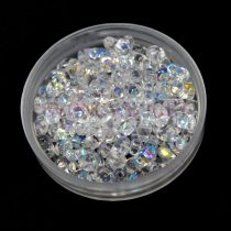 Miniduo bead crystal ab 2.5x4mm