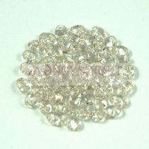 Miniduo bead silver lined crystal 2.5x4mm