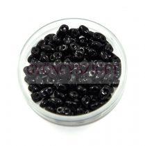 Miniduo bead black 2.5x4mm