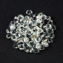Miyuki drop gyöngy - 1 - Silver Lined Crystal - 3.4mm