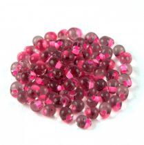 Miyuki drop gyöngy - f3 - Pink Lined Smoky Amethyst - 3,4mm