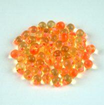 Miyuki drop gyöngy - f9 - Salmon Lined Light Topaz - 3,4mm