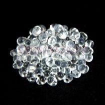 Miyuki drop gyöngy - 131 - Crystal - 3.4mm