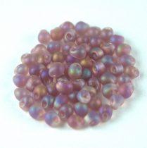 Miyuki drop gyöngy – 142fr – Frosted Rainbow Amethyst - 3.4mm