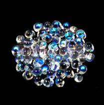 Miyuki drop gyöngy - Crystal AB - 3.4mm