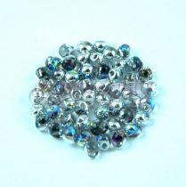 Miyuki drop gyöngy - 55017 - Crystal Silver Rainbow - 3.4mm