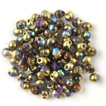 Miyuki drop gyöngy - 55023 - Crystal Golden Rainbow - 3.4mm