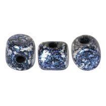 Minos® par Puca®gyöngy - tweedy blue - 2.5x3 mm