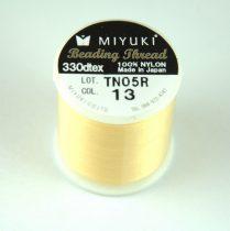 Miyuki fűzőcérna - yellow - 50m