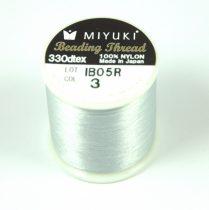 Miyuki fűzőcérna - ezüst - 50m