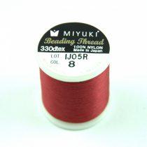 Miyuki fűzőcérna - red - 50m