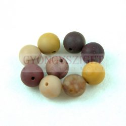 Mokait ásvány golyó gyöngy - matt - 8mm Mokait 8730c2e422