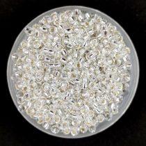 Miyuki kásagyöngy - 1 - Silver Lined Crystal - méret:11/0 - 30g