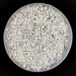 Miyuki kásagyöngy - 1 - Silver Lined Crystal - méret:11/0