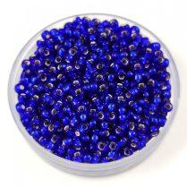 Miyuki kásagyöngy - 20 - Silver Lined Cobalt - méret:11/0 - 30g