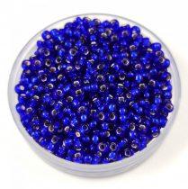 Miyuki Japanese Round Seed Bead - 20 - Silver Lined Cobalt - size:11/0