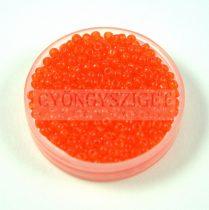 Miyuki Japanese Round Seed Bead - 138 - Transparent Orange - size:11/0 - 30g