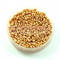 Miyuki kásagyöngy - 182 - Galvanized Gold - méret:11/0 - 30g-AKCIOS
