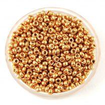 Miyuki Japanese Round Seed Bead - 182 - Galvanized Gold - size:11/0