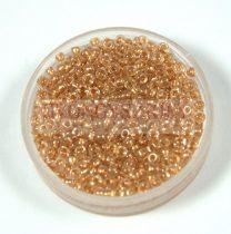 Miyuki kásagyöngy - 234 - Gold Lined Crystal - méret:11/0 - 30g