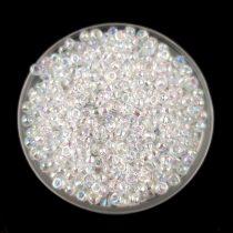 Miyuki Japanese Round Seed Bead - 250 - Rainbow Crystal - size:11/0