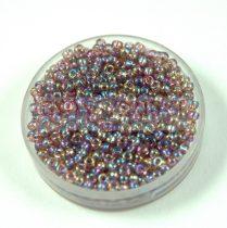 Miyuki kásagyöngy - 256 - Transparent Lavender AB - méret:11/0 - 30g-AKCIOS