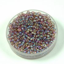 Miyuki kásagyöngy - 256 - Transparent Lavender AB - méret:15/0